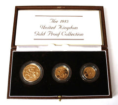 1983 United Kingdom Gold Proof Collection