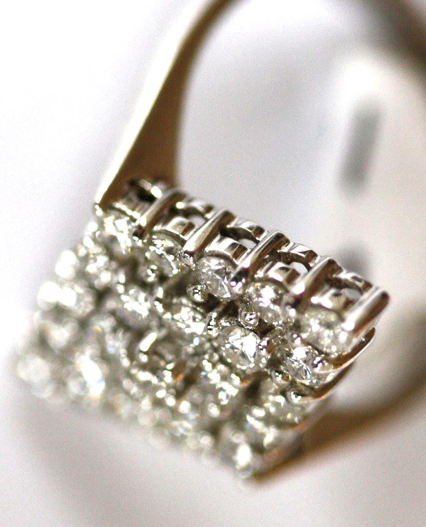 ring art carat diamond deco engagement