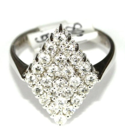 18ct White Gold 25 Diamond 1.08ct