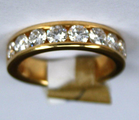 18ct 8 Stone 1.50ct Half Eternity