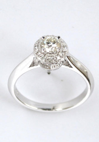 18ct white diamond 1.16ct