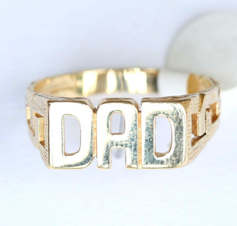 9ct plain dad with cut out shoulders
