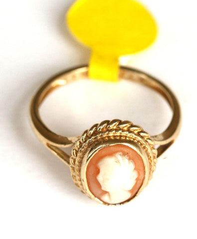 9ct small cameo