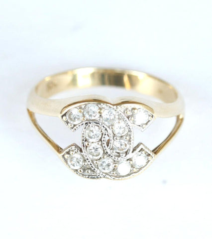 9ct gemset coco chanel