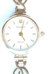 Accurist 9ct ladies