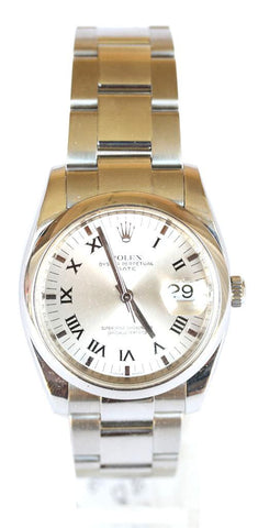Rolex Gents Stainless Steel Date