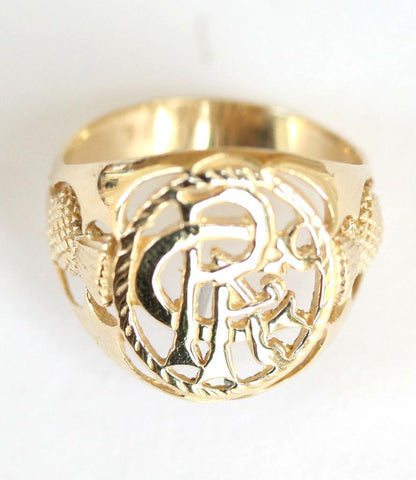 9ct r.f.c. With thistle shoulders