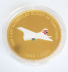 Last Scheduled Flight of Concorde Gold Coin