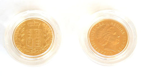 The Jubilee Shield Sovereign 2 coin set
