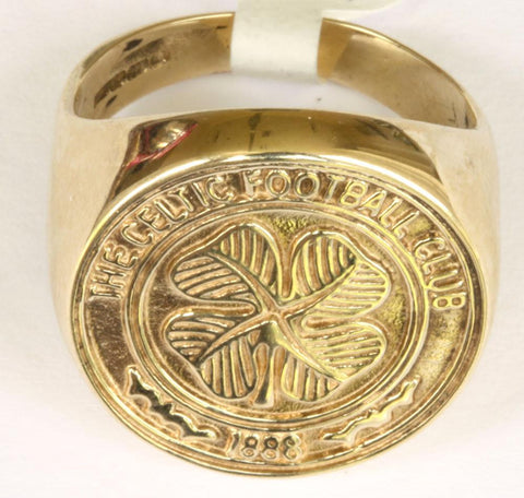 9ct Celtic Crest Ring