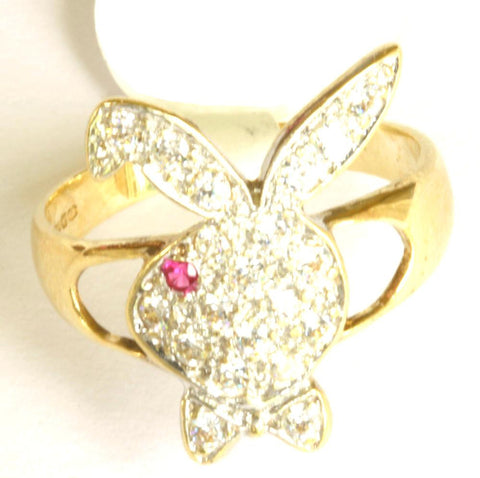 9ct Gemset Playboy