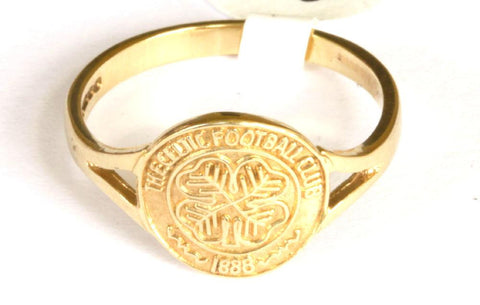 9ct Ladies Celtic Crest