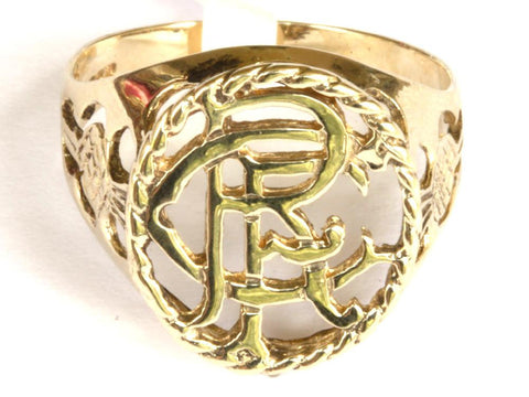 9ct R.F.C With Thistle Shoulders