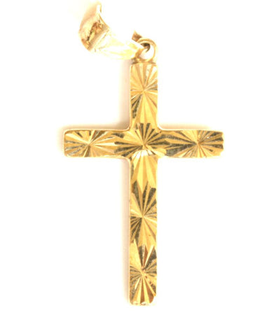 9ct Small Cross