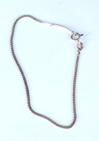 Silver Link Chain with Mackintosh Pendant