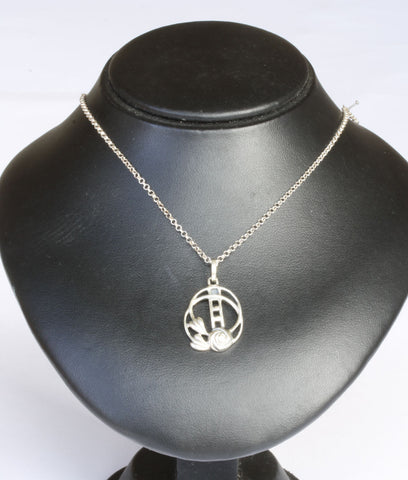 Silver Belcher with Mackintosh Pendant