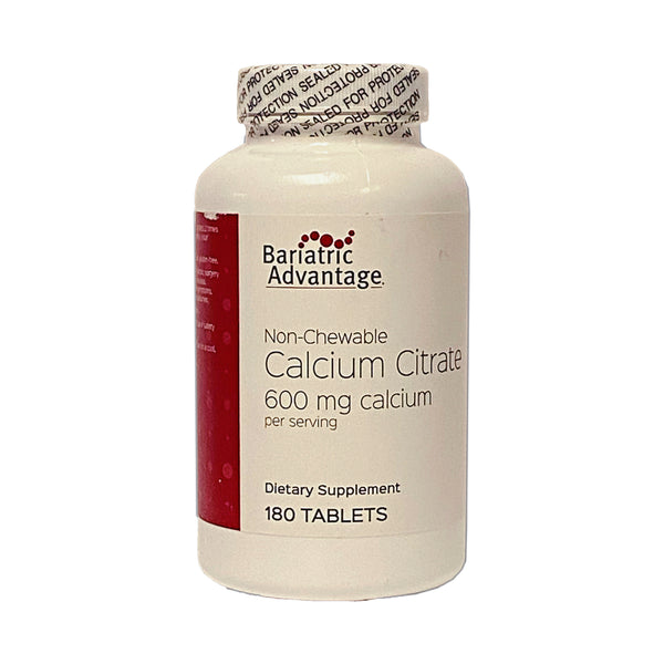 Bariatric Advantage Non-Chewable Calcium Citrate Tablet