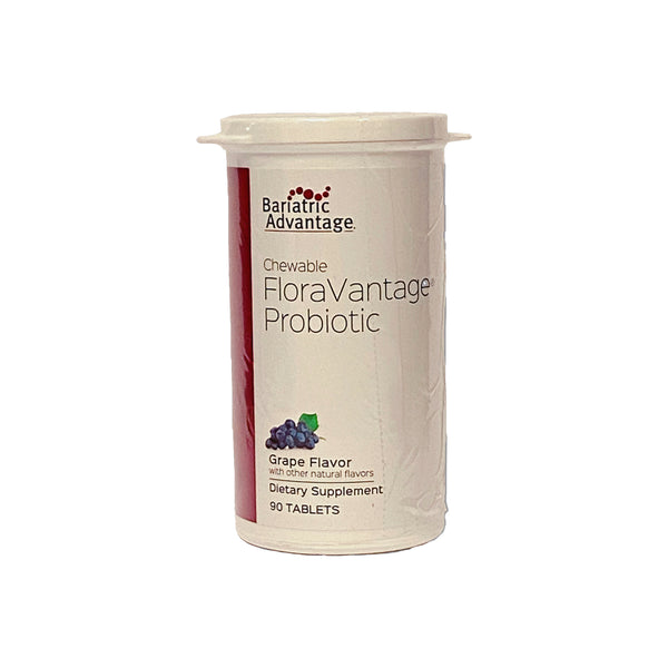 Bariatric Advantage FloraVantage Chewable Grape Probiotic