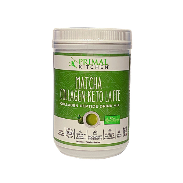 Primal Kitchen -Matcha Collagen Keto Latte