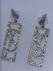 YSL EARRINGS - Hustla Boutique