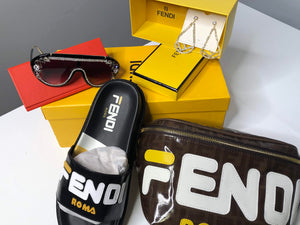 FENDI CANVAS BELT BAG - Hustla Boutique