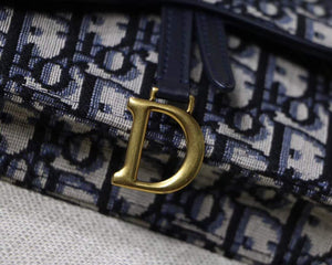 DIOR  OBLIQUE SADDLE BELT BAG - Hustla Boutique