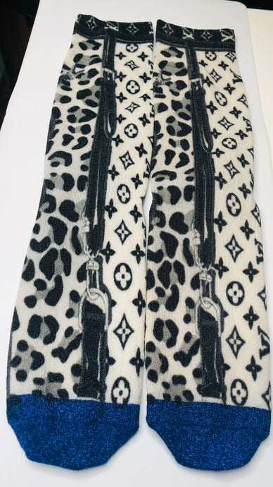 LOUIS VUITTON SOCKS - Hustla Boutique