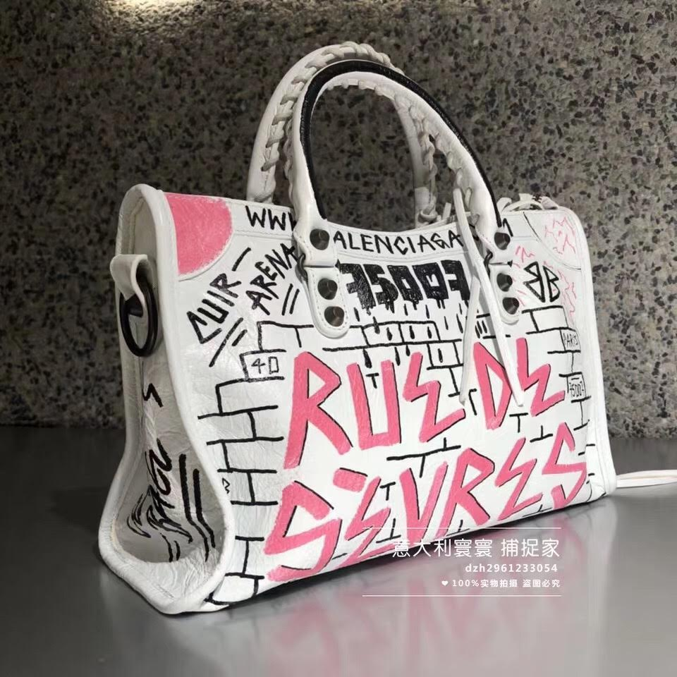 BALENCIAGA GRAFFITI - Hustla Boutique
