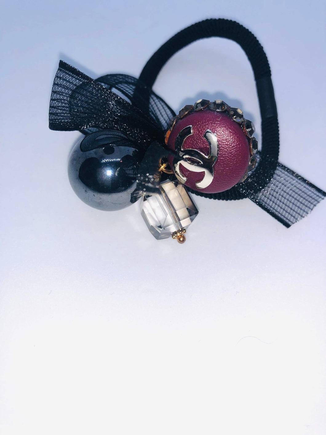 CHANEL HAIR TIE - Hustla Boutique