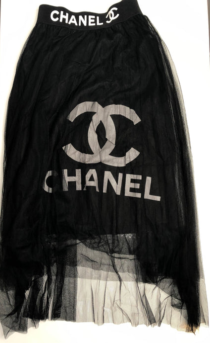 CHANEL SKIRT - Hustla Boutique