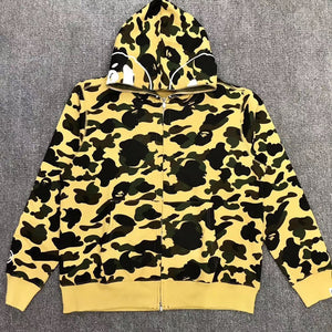 BAPE HOODED SWEATER - Hustla Boutique