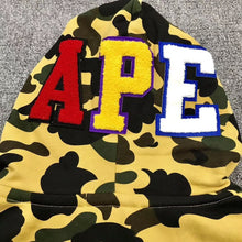 Load image into Gallery viewer, BAPE HOODED SWEATER - Hustla Boutique