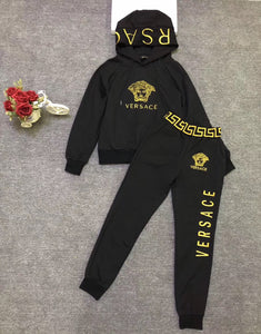 VERSACE JOGGER SET - Hustla Boutique