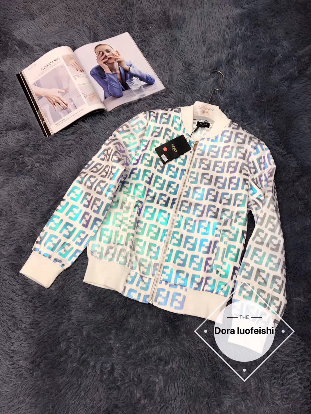 FENDI TRACK JACKET - Hustla Boutique