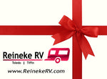 Reineke RV $25.00 Gift Card