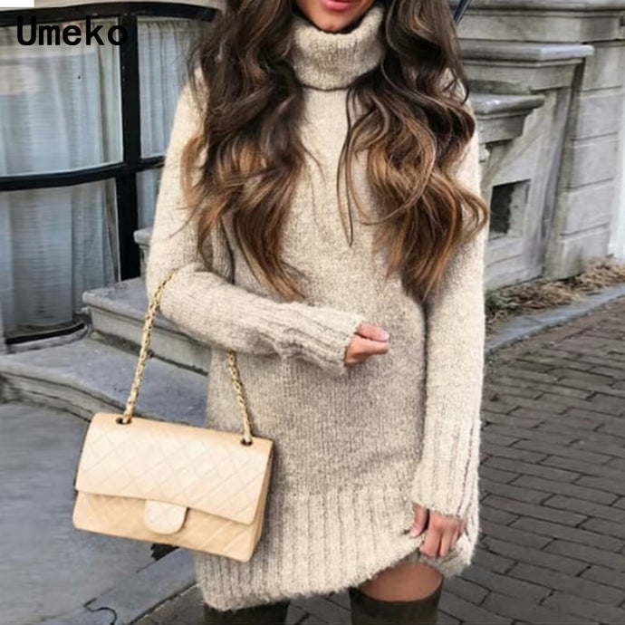 Pullover Sweater Dress
