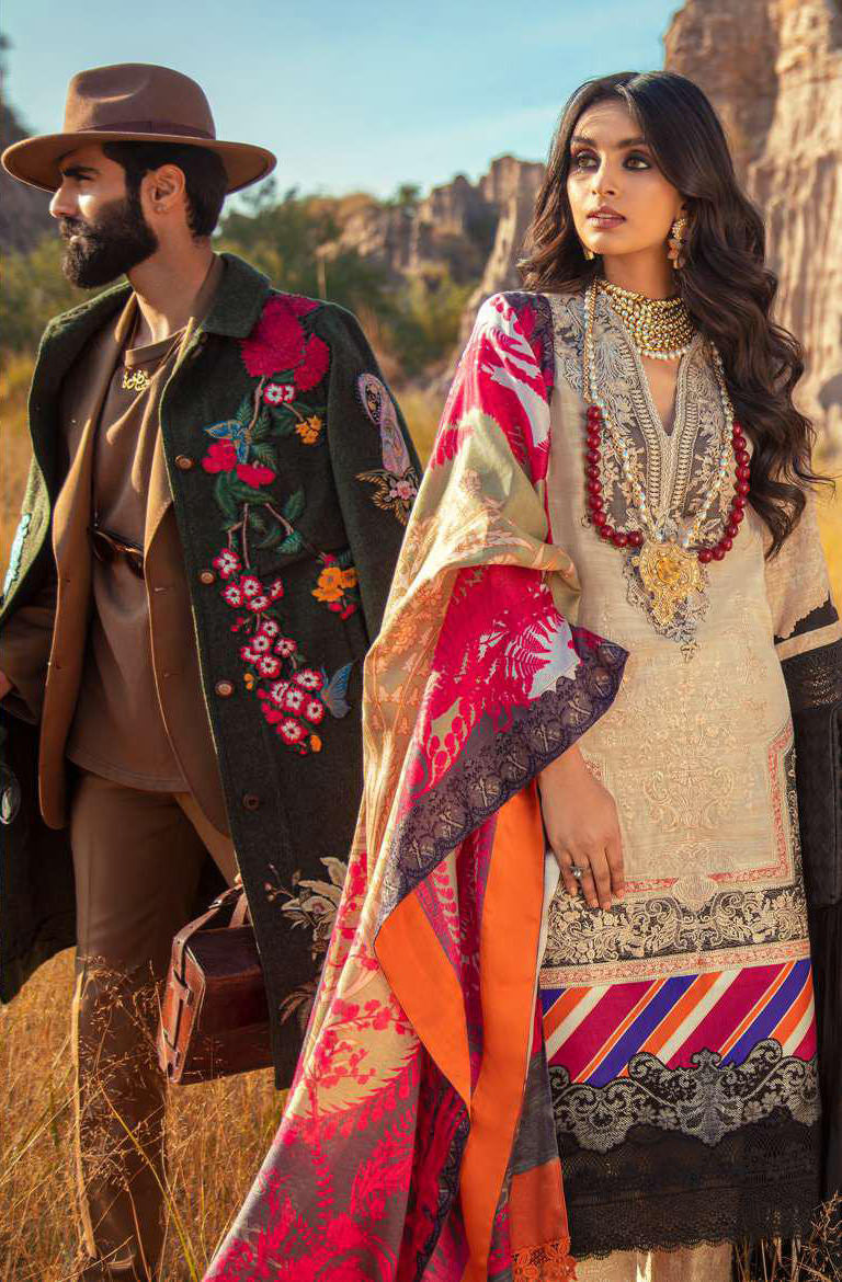 Sana Safinaz Winter Shawl Collection 2020