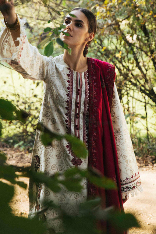 Zara Shahjahan Winter Shawl 2020 NISSA