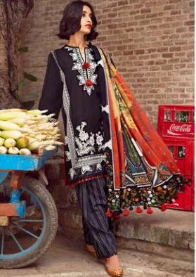 wishcart-Pakistanisuits-Nafeesa and Taalia Winter Suits by Zaha Khadijah Shah-06-MUBARAK BEGUM