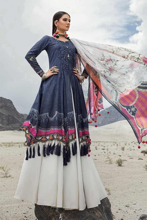 MARIA.B. Mprints Katpana Original Pakistani Dresses & Suits 19A Wishcart.in