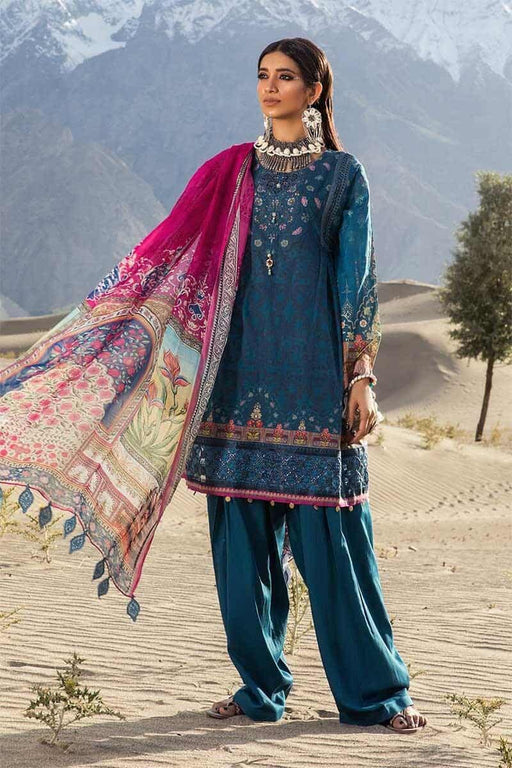 MARIA.B. Mprints Katpana Original Pakistani Dresses & Suits 1A Wishcart.in