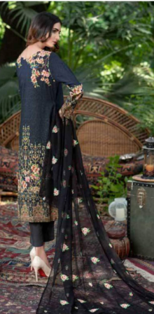 Wishcart -Zebaish Digital Printed Linen Collection A11