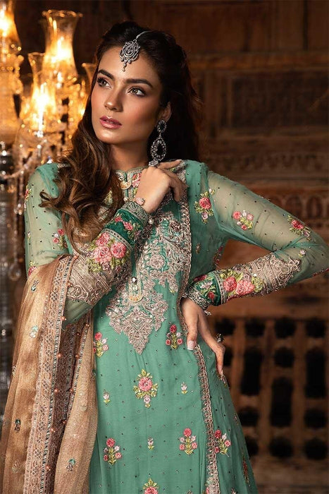 MARIA.B. Mbrodiered Heritage Original Pakistani Dresses and Suits A1 02  Wishcart.in