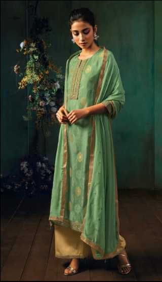 wishcart - Ganga Annika Silk Jacquard Collection 7944