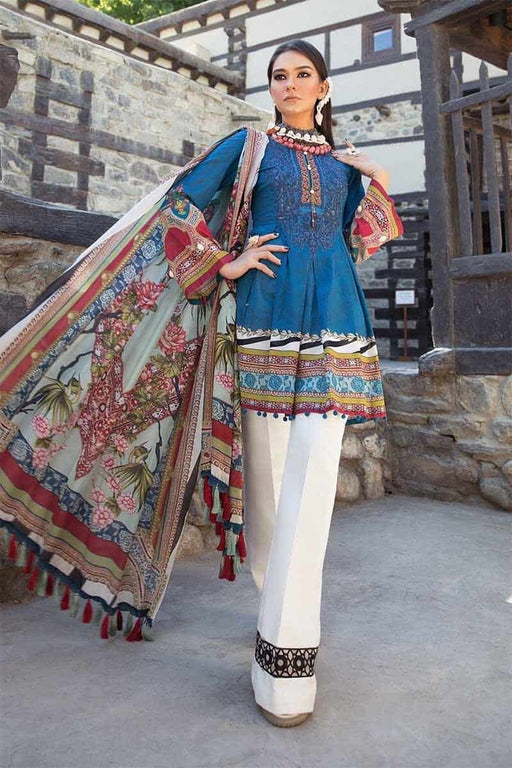 MARIA.B. Mprints Katpana Original Pakistani Dresses & Suits 20A Wishcart.in