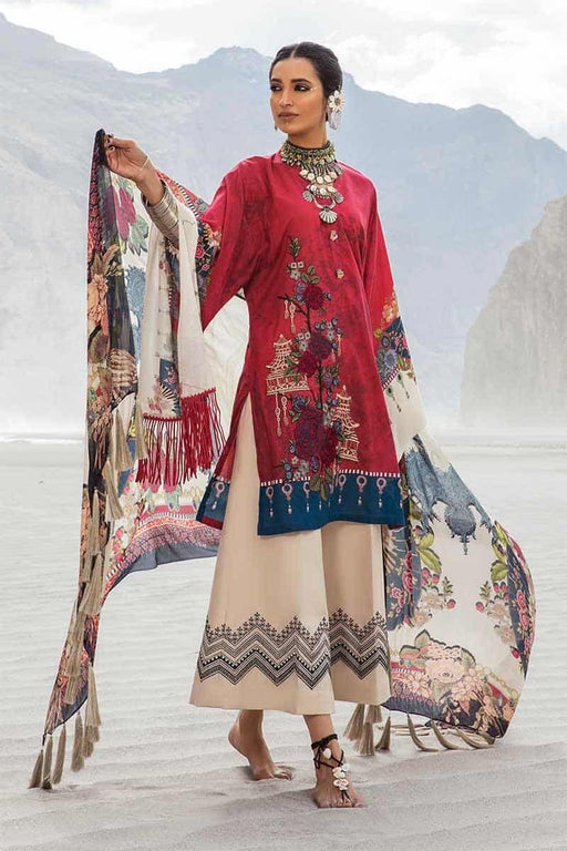 MARIA.B. Mprints Katpana Original Pakistani Dresses & Suits 2A Wishcart.in