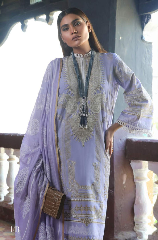 Sana Safinaz Kurnool Lawn Original Pakistani Dresses and Suits 2A2 Wishcart.in