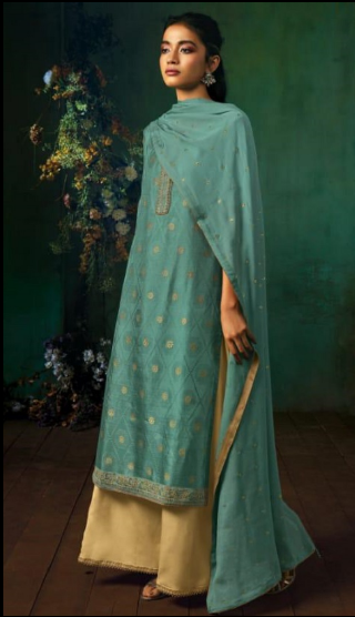 wishcart - Ganga Annika Silk Jacquard Collection 7945
