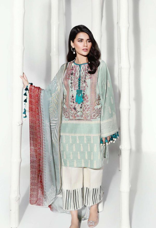 Wishcart-Pakistanisuits-Sana Safinaz Fall Embroidered Cambric 2019 14A