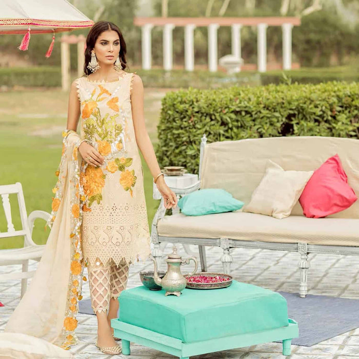 Charizma Festive Eid Original Pakistani Pakistani Dresses & Suits Lime Light - wishcart.in